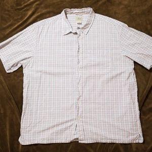 LL Bean Wrinkle Free Checked Shirt